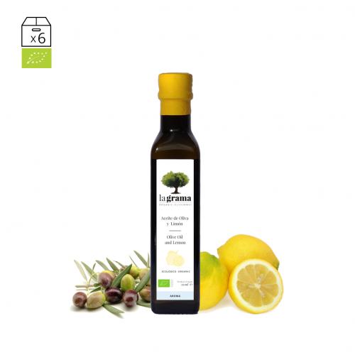 La Grama Aroma Citron 0,25 litres – Huile d'olive et citron