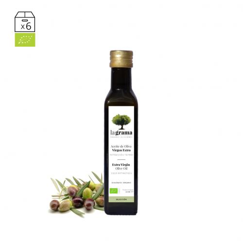La Grama Selección 0,25 litros – Aceite de oliva de cosecha temprana