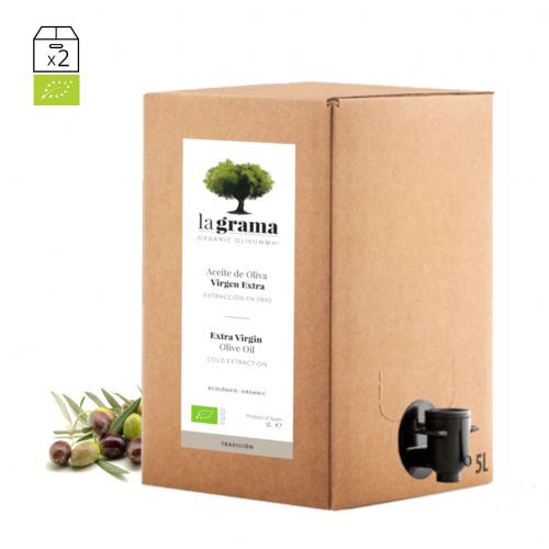 La Grama Tradición bag-in-box de 5 litros – Aceite de oliva Coupage Premium