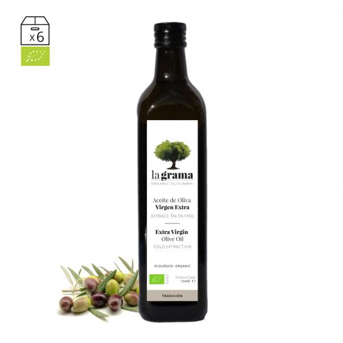 La Grama Tradición 0,75 litros – Aceite de oliva Coupage Premium
